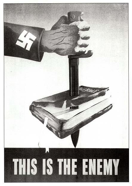 To sell World War II to the American public, video propaganda
