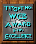 Tip of the Web Award for Excellence